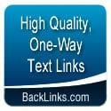 Sell Text Links with BackLinks.com