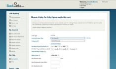 SEO Automation with Link Queues