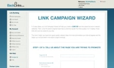 Quick-Start Link Campaign Wizard